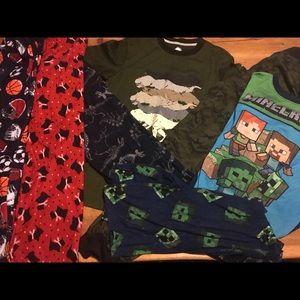 Lot of pajamas